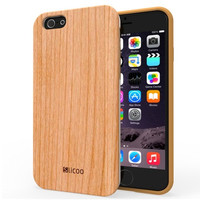 Slicoo Wooden Design Case for iPhone 6\6s