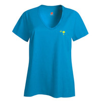 Perfectly Palmetto Ladies' V-Neck T-Shirt