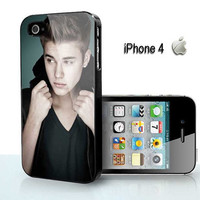 justin beiber cool pose - for iPhone 4 case, iPhone 5 case, Samsung S2, Samsung Galaxy s3 and Samsung Galaxy s4