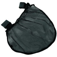 Evelots Attachable Stroller Net Storage Bag, Baby Supplies Travel Pouch, Black