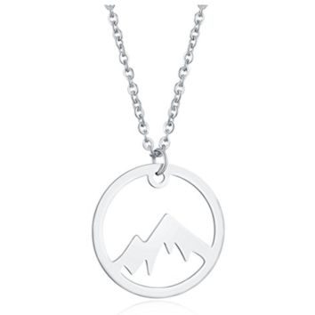 Mountain Necklace for Outdoor Lovers