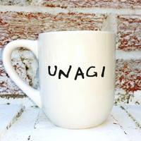 Unagi, funny Friends Tv Show quote, Ross, Martial arts, karate, funny gift for friends fan guys men boyfriend girlfriend