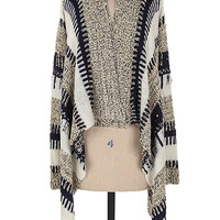 Snow Capped Mountain Cardigan