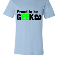 proud to be a nerd - Unisex T-shirt