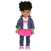 """African American 18"""" Smart Interactive Realistic Talking Baby Doll"""