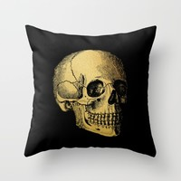 The Anatomy of Shadows Throw Pillow by Thealleycatemporium