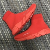 Balenciaga Speed Trainers Red - Best Online Sale