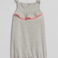 Ruffle Shorty One-Piece|gap