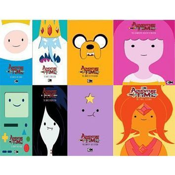 Adventure Time DVD Series Seasons 1-8 Set