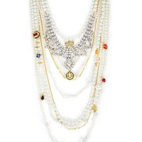 Duchess Pearl Statement Necklace by Juicy Couture