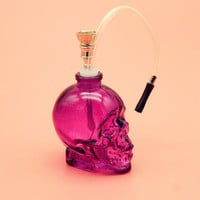 1PC Mini Skull Head Water Pipe - Mini Hookah (6 Colors)