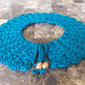 Crochet Lace Collar - Peter Pan Collar - Fashion Trend - Gift for Her