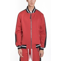 RALLY TRACK JACKET- RED