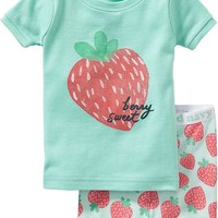 Old Navy Strawberry PJ Sets For Baby