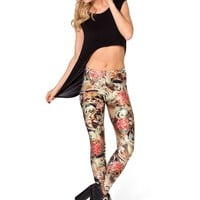 Leggings Print Skinny Pants [6049203905]
