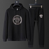 Versace Hoodie Pants Trousers Two Pieces