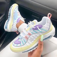 Nike Air Max 98 Woman Men Fashion Sneakers Shoes