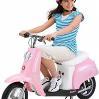 Razor Pocket Mod Miniature Electric Scooter, Pink