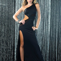 Sequenced Cut Out Gown
