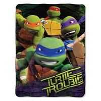 Teenage Mutant Ninja Turtles Throw