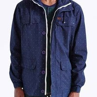 Globe Goodstock Dot Parka- Navy