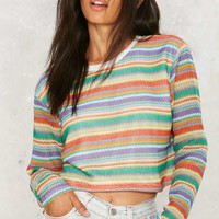 Rainbow or Later Striped Top