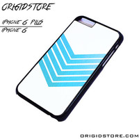Chevron White Blue Case For Iphone 6/6Plus Case