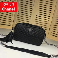 Chanl Women Leather black and gold Chain Double C Chane vintage CHAL jumbo Tote Handbag Shoulder Bag Shopping Bag Messenger Bags Wallet Purses 2020 New Fashion Bags