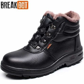 Men's Winter Boots Snow Boots for Men Ankle Boots