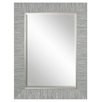 Belaya Gray Wood Mirror By Uttermost