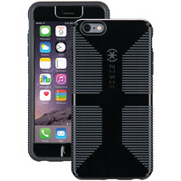 SPECK 71261-B565 iPhone(R) 6 Plus/6s Plus CandyShell(R) Grip Case + Faceplate (Black/Slate Gray)
