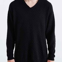 Your Neighbors Slouchy V-Neck Sweater-
