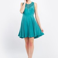 Fit and Flare Twirl Dress