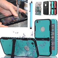 Waterproof Shockproof Snowproof Stand Case Protective Cover For iPhone 6/S Plus