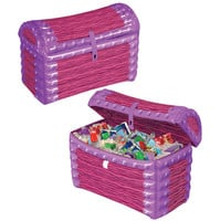 Inflatable Princess Treasure Chest Cooler - 24 x 17 inch