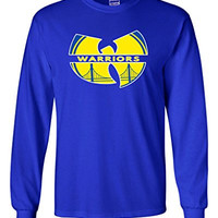 "Long Sleeve Golden State Warriors ""W"" T-Shirt ADULT 3XL"