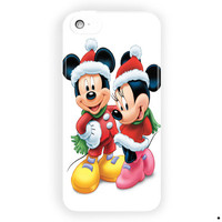 Christmas Mickey And Minnie Mouse For iPhone 5 / 5S / 5C Case