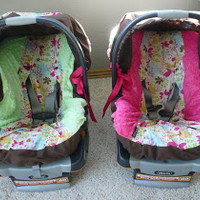 Hipncozy.com Customer Comments: Baby Car Seat Covers-Modern Maggie Twins!