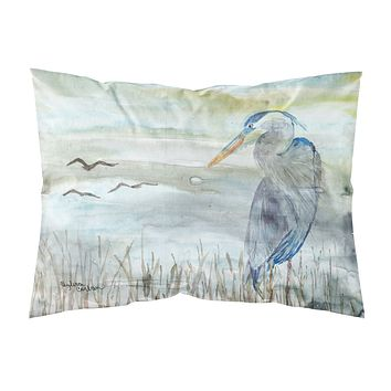 Blue Heron Watercolor Fabric Standard Pillowcase SC2007PILLOWCASE