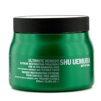Shu Uemura Ultimate Remedy Extreme Restoration Treatment (For Ultra-Damaged Hair) 500ml