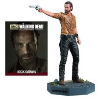 Walking Dead Rick Grimes Figure with Collector Magazine