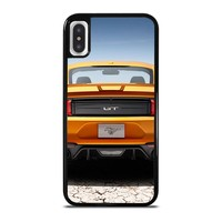FORD MUSTANG GT SPOILER iPhone X / XS case