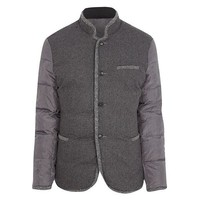 Short Collar Wool Jacket
