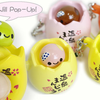 Squishy Pop Eggs : Strapya World : Japanese Kawaii Character from Strapya World