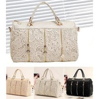 Women's Lace Handbag Vintage Shoulder Bags [10198322631]