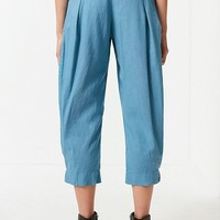 UO Kimmy High-Rise Pleated Pant   Urban Outfitters