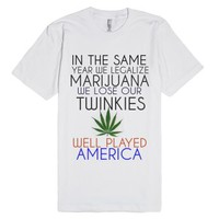 In The Same Year We Legalize Marijuana We Lose Our Twinkies. Well P...