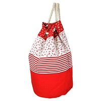 Red Anchor and Rope Backpack