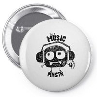 monster Pin-back button
