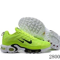 Hcxx 19July 1227 Nike Air Max Plus PremiumTwo Swoosh Logo 815994-300 Retro Sports Flyknit Running Shoes
